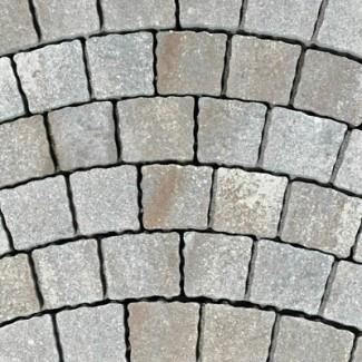 Arte - Pest Buda Kockakő 10cm patinabronz, patinaszürke