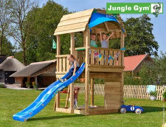 climbing-frame-with-slide-jungle-barn-blue