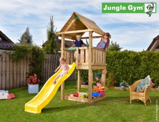climbing-frames-and-slides-jungle-house-yellow