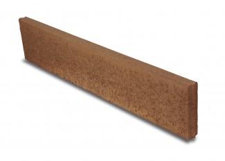 Kertiszegély 100/20/5cm vörös, antracit, barna