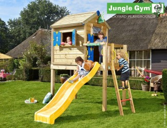 wooden-playhouse-with-slide-jungle-playhouse-l