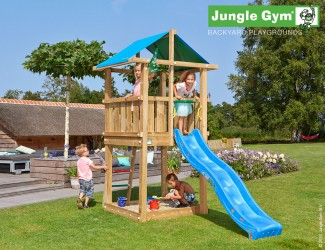 climbing-frames-and-slides-jungle-hut-blue