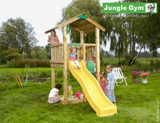 climbing-frames-for-small-gardens-jungle-casa-yellow