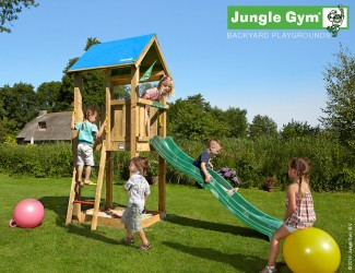 climbing-frames-for-small-gardens-jungle-castle-darkgreen