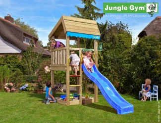 climbing-frames-for-small-gardens-jungle-home-blue