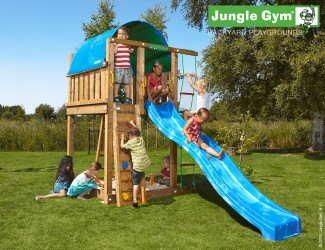 climing-frame-slide-jungle-villa-blue